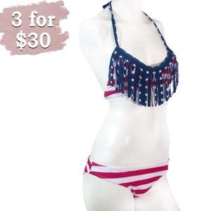 Marina West Red, White and Blue 2 Piece Bi…